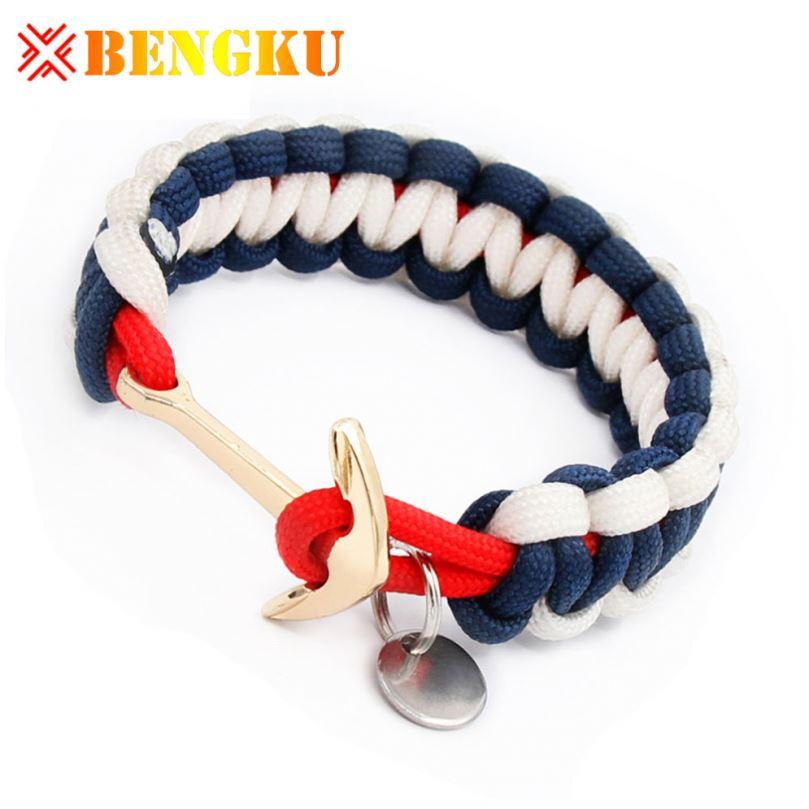 Promotional Knot Anchor Bracelet Wristband фото