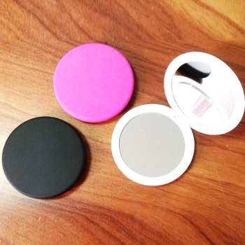 make up mirror/custom small plastic pocket compact mirror