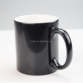 Personalized design 11oz sublimation color change mug magic