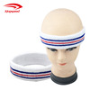 Certified Top Supplier Promotional Wholesale Custom Cotton Elastic Stripes Headband