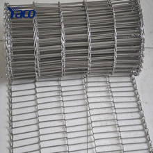 China stainless steel wire chain mesh conveyor belt for furnace