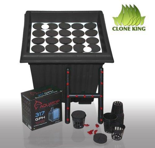 Clone King 25 Site Aeroponic Cloning Machine Expect 100% Success Rates
