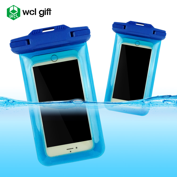 OEM Service high quality Simple Fashion waterproof cell phone PVC TPU outdoor waterproof dry bag