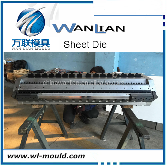 Extrusion mould T die for PVC Rigid Sheet /PVC board/PVC Sheet