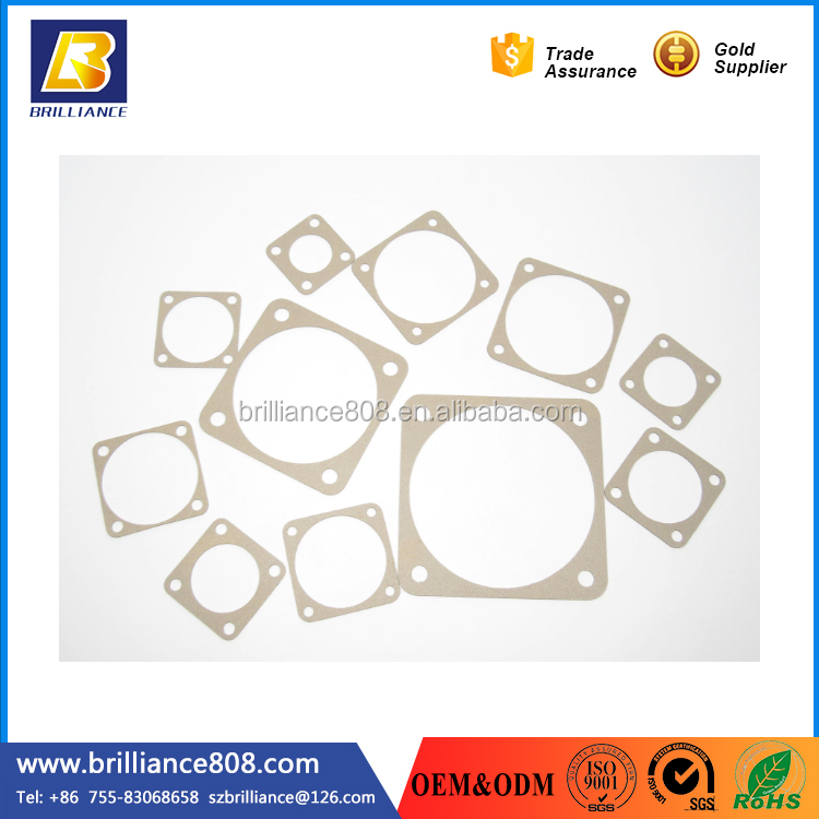 Highly Conductive Reinforced Nickel Graphite Filled Silicone rubber gaskets flat rubber gaskets EMI/EMP gaskets