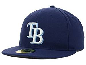 New Era Tampa Bay Rays MLB Authentic Collection 59FIFTY On Field Cap NewEra