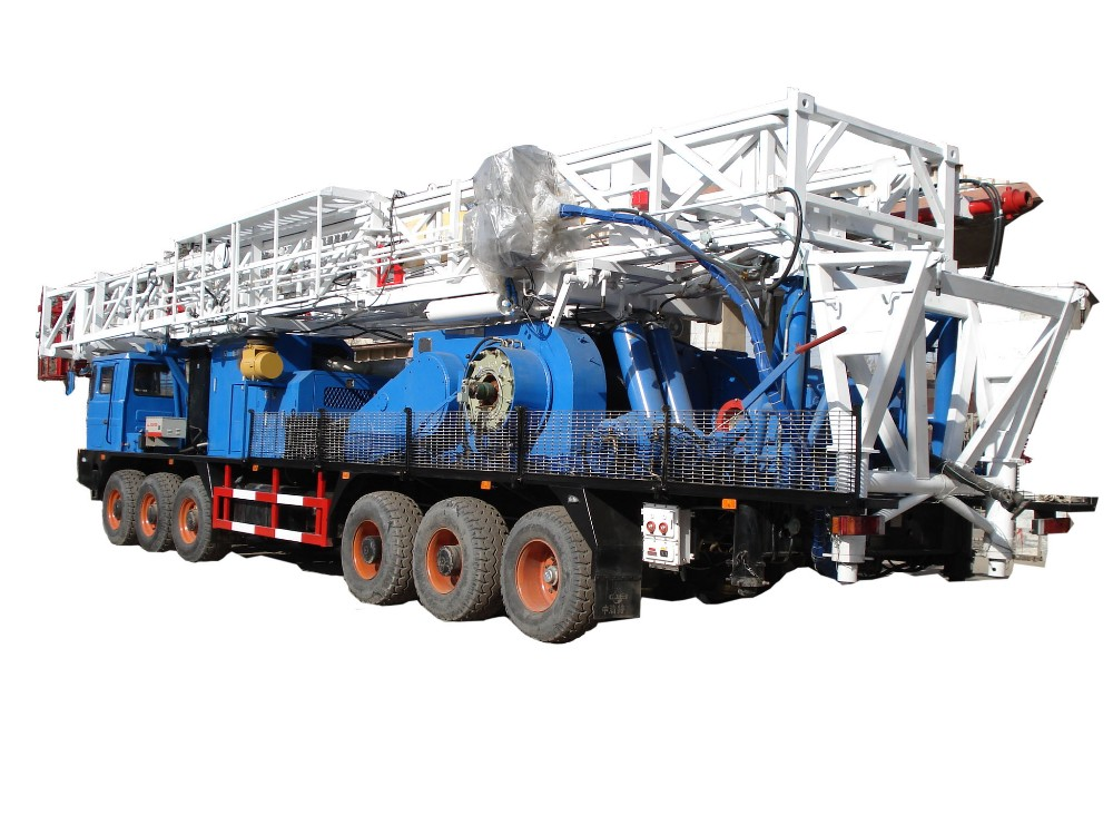 Henan Zj20 650hp Well Services Pulling Unit Imported Engines - Buy Zj20  650hp Well Services Pulling Unit,Henan Zj20 650hp Well Services Pulling