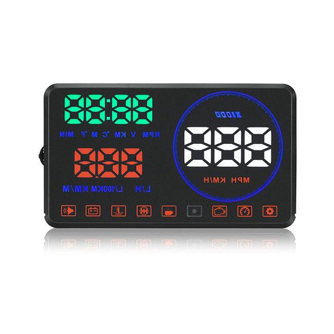 """Car hud M9 4"""" black holder for car speedometer hud projector for car"""