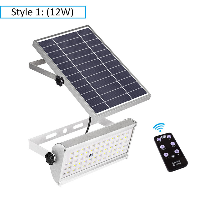 Las luces solares al aire libre Ultra brillante 100 LED Sensor de movimiento ancho ángulo impermeable Solar luz de seguridad para pared exterior Patio