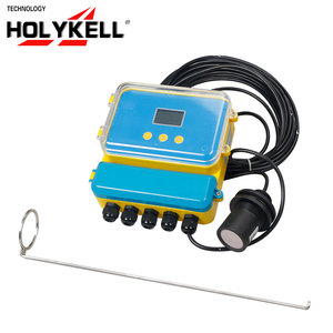 Holykell OEM US9000 2 Relays output 10M ultrasonic river /lake/sea water level sensor