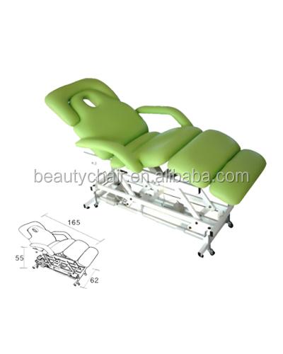 Classic elettrico regolabile beauty spa letto lettino da massaggio corpo massaggi tabelle id - Letto da massaggio ...