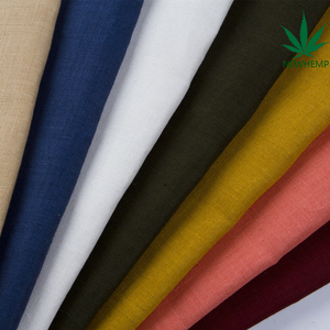 100% hemp fabric eco-friendly for clothing made in china