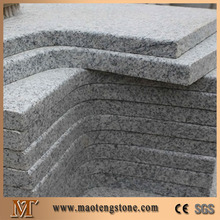 G603 Light Grey Granite Flamed Surface Coner Swimming Pool Copings