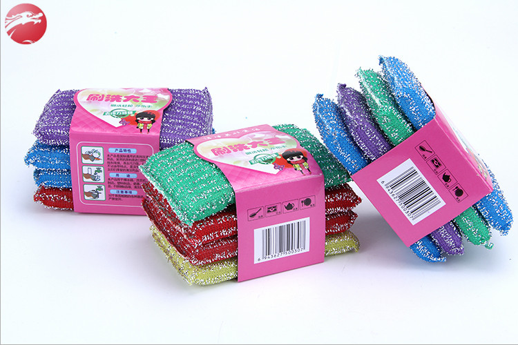 Good quality nonwoven fabric washing scouring pads wholesale dish scrubber pad