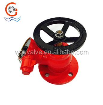 BS5041 fire hydrant landing valve with flange fire hydrant valve