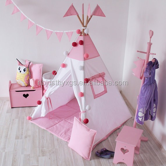 2016 New Canvas Kids Play Teepee Baby game house Children toys tents