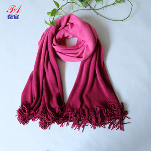 Ladies' 100% Acrylic Cashmere Feel Dip Dying Soft Big Long Scarf
