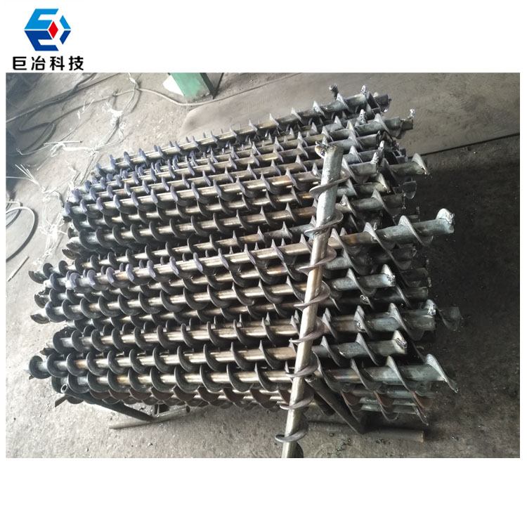 Carbon steel Spiral Dill Rod/drill pipe in mining machinery parts