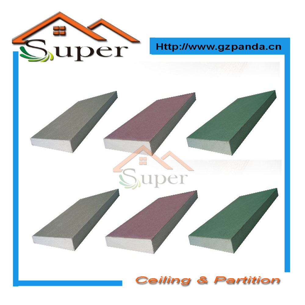 Red Green Blue Paper Faced Plaster Board
