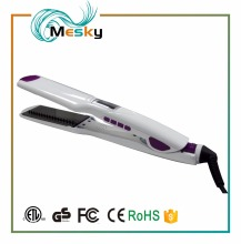 2017 Professional Straightening Irons Comb With Voice Function Personalized Hair Straightener Hair Flat Iron
