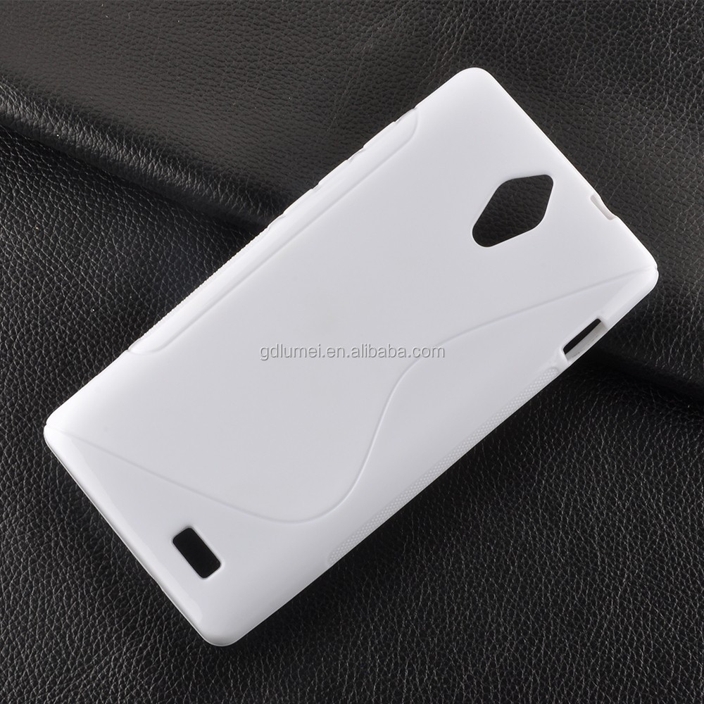 S-Line TPU Gel Back Cover Case for Hisense Sero 5 L691