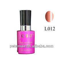High Quality CBD Nail Beauty Choices Colored UV Gel Polish L012