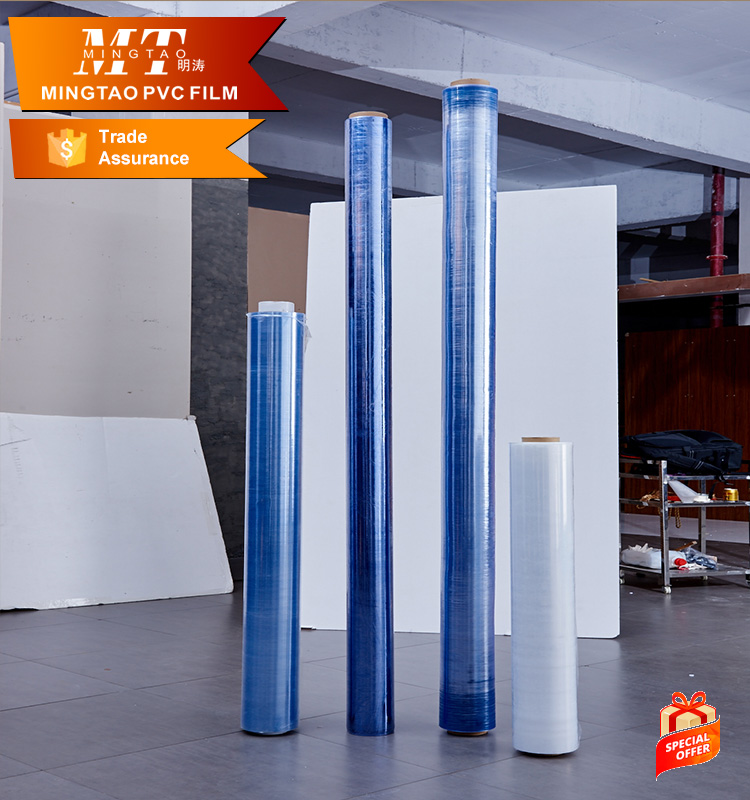 Mattress packaging blue pvc film for mattress cover protection