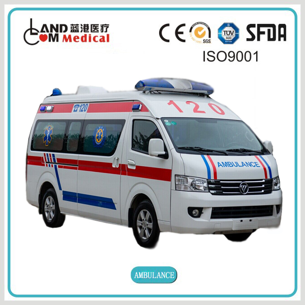 Toyota Foton left or right hand drive HIACE emergency ambulance