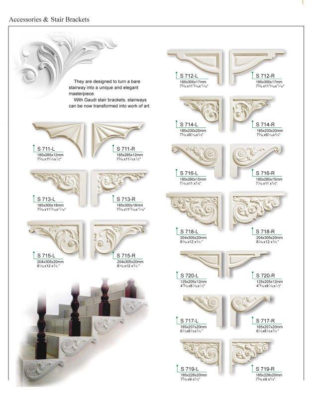 Stair Brackets   Buy Decorative Stair Bracket,Pu Stair Brackets,Gaudi Decor Stair  Brackets Product On Alibaba.com