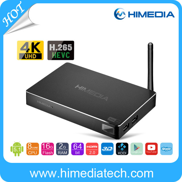 High Definition RK3368 Android Qcta Core Set Top Box 64Bit CPU Android5.1 Full HD 4K 2G/16G Cable TV Set Top Box