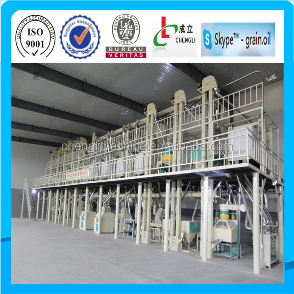 100T/day maize flour mill machine