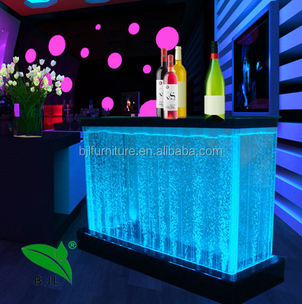 modern led bar table custom made big or small size counter