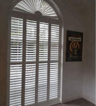 Beautiful Wood Shutters For French Door   Buy Polystyrene Shutters,Interior  Bi Fold Window Shutters,Arch Wood Shutters Product On Alibaba.com