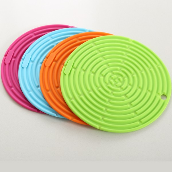 Top quality drink custom silicone coasters for promotion