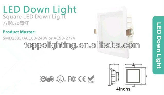8 Inches 20W LED Down light with 2835 high Luminous SMD
