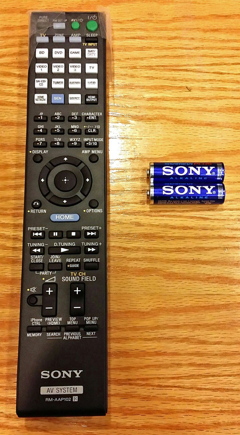 LR Generic Remote Control Fit for RM-AAP001 RM-AAP102 149217211 STR-DN1040 for Sony Surround Sound A//V AV Receiver