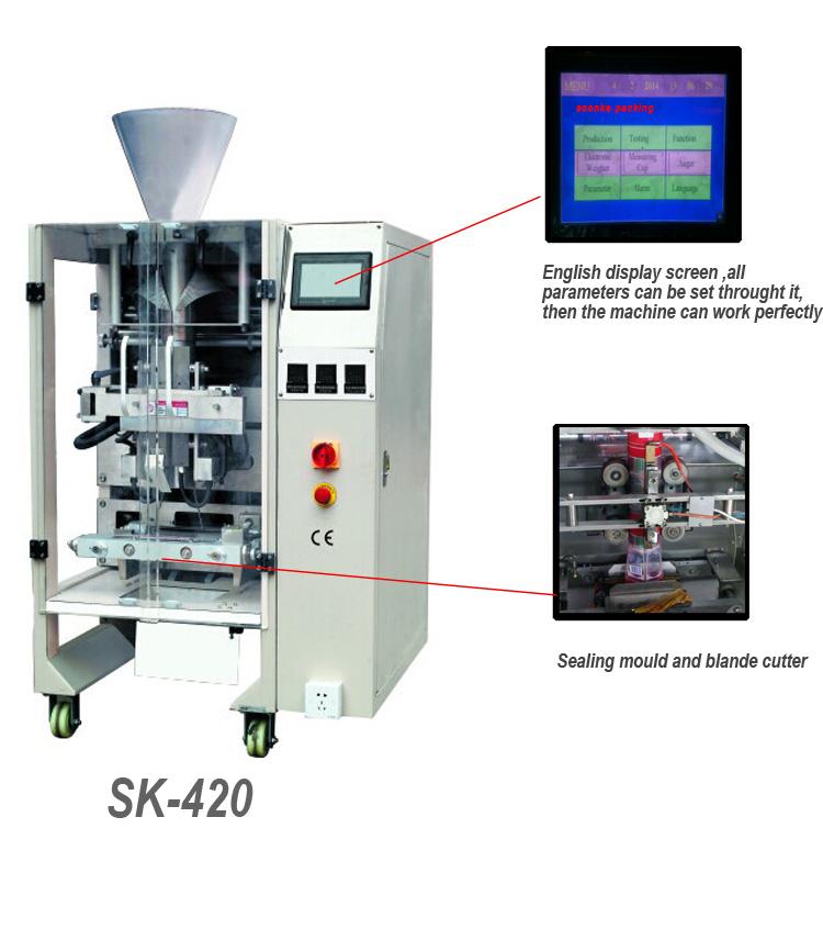 cran tactile couleur liquide machine de remplissage de sachet d 39 autres machines de. Black Bedroom Furniture Sets. Home Design Ideas
