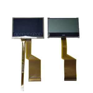 FSTN Wide LCD 128X64 dots matrix Graphic lcd Display Module COG+FPC 70(H)*44(V)*2.0(T)mm Negative Transmissive