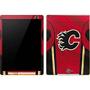 NHL Calgary Flames iPad Pro Skin - Calgary Flames Home Jersey Vinyl Decal Skin For Your iPad Pro