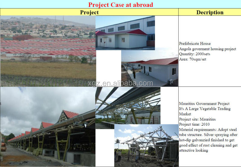 frame structure prefabricated steel building
