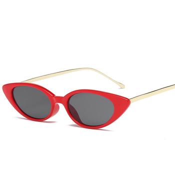 dd54af92f8 GUVIVI Oval Women Fashion Street Sun Glasses UV400 Eyewear Retro Small Oval fancy  Sunglasses