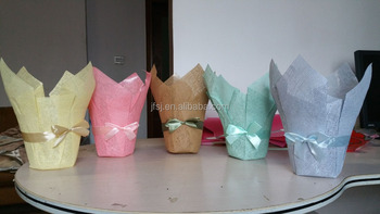 Coloured paper weave flower pot cover buy paper weave pot cover coloured paper weave flower pot cover mightylinksfo