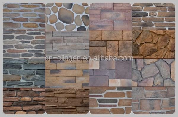 Revestimiento de pared de piedra de imitaci n de pared - Revestimiento imitacion piedra ...