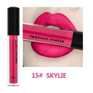 18 Colors Matte Liquid Lipstick Private Label
