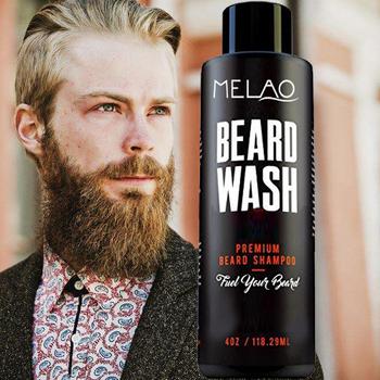 Melao Beard Growth And Thickening Shampoo Conditioner - With Organic Beard  Oil - For Best Beard Look-for Facial Hair Growth Set - Buy Beard Shampoo