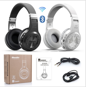 Bluedio headphone helmet headset H+ 4.1 bluetooth with SD card and FM