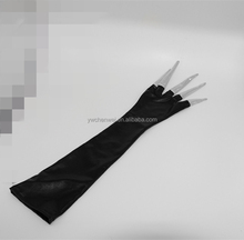 Newest selling Long Halloween Decorations Party Role Cosplay Props Ghost Claw Gloves