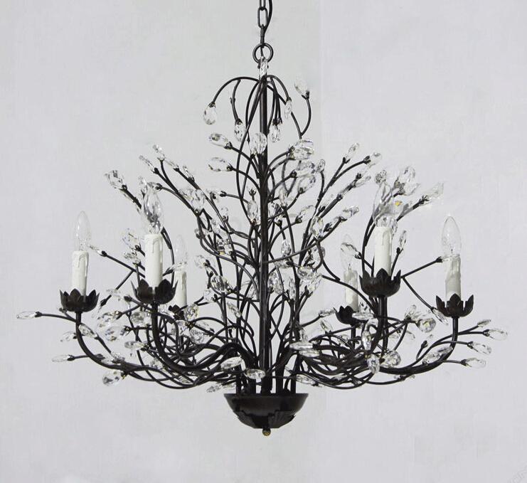 grand lustre noir moderne. Black Bedroom Furniture Sets. Home Design Ideas