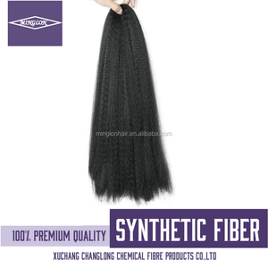 2016 Synthetic Hair Wholesale Synthetic Hair Padding Synthetic Hair Raw Material