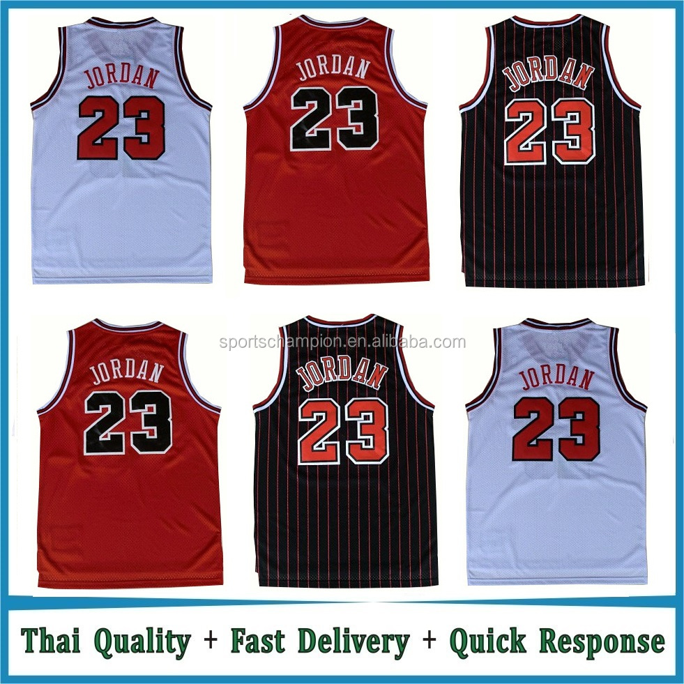 Chicago Michael Jordan #23 Basketball Jersey